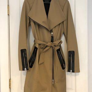 Mackage Estela Belted Trench Coat - Size S